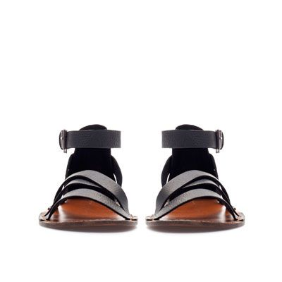 Zapatos Zara Sandalias Knw8opxn0 Sandalia Hombre España Romana JclTFK1
