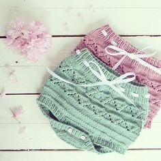 Tapa fraldas em tricot para bebé by pontinhosmeus on Etsy