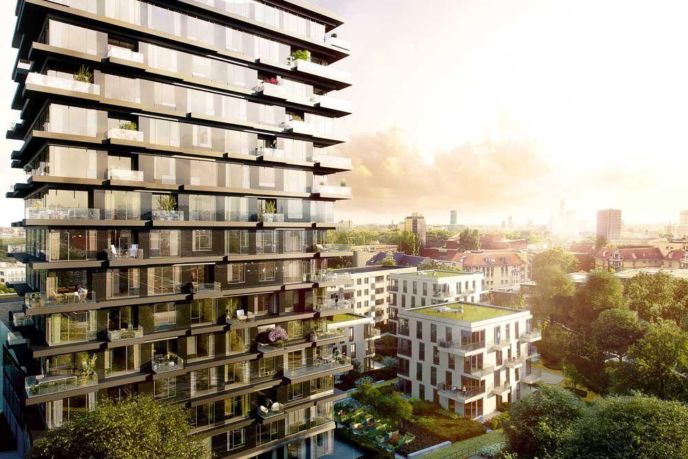 Oasis Berlin Neubau Von 101 Eigentumswohnungen Bachstrasse 1
