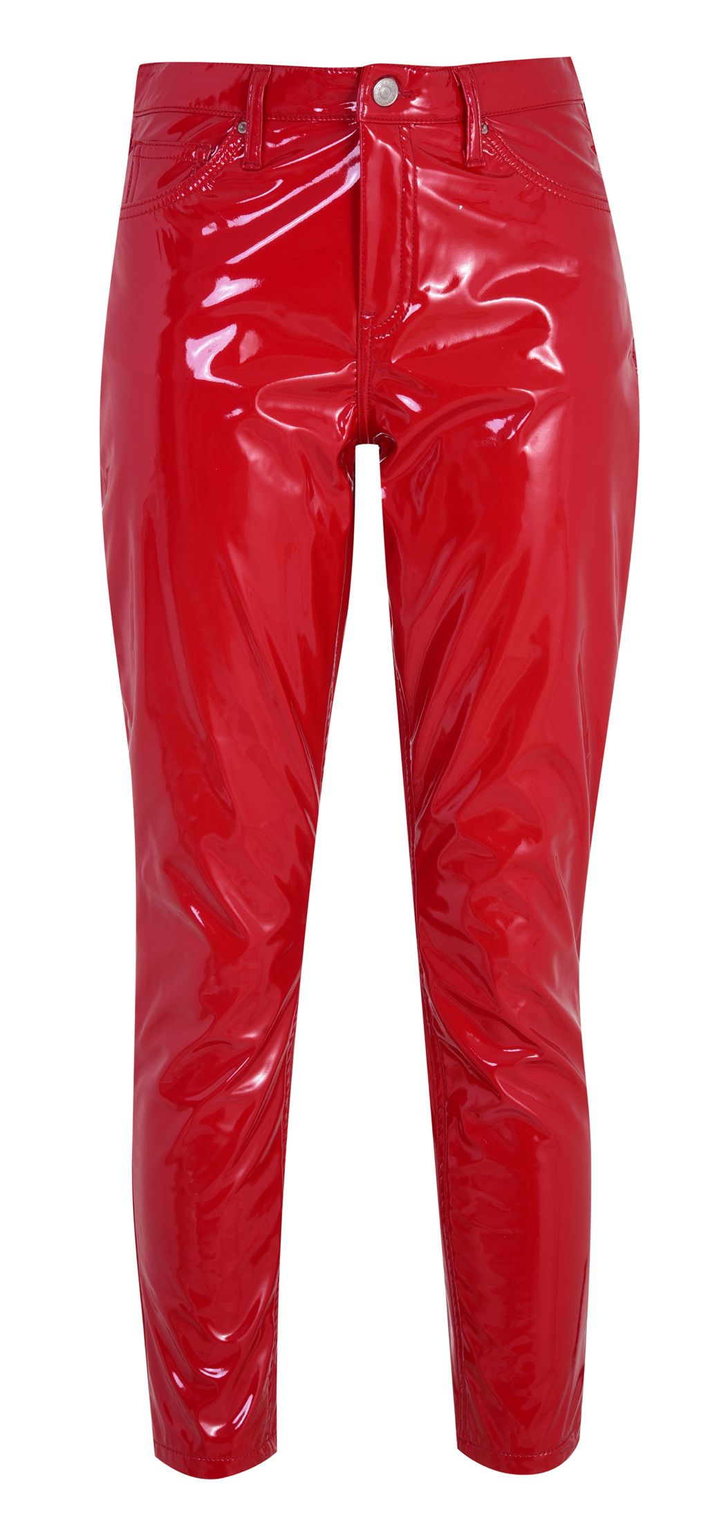choose best durable service 60% cheap Red patent leather look pants, Topshop. Spring/Summer Trends ...
