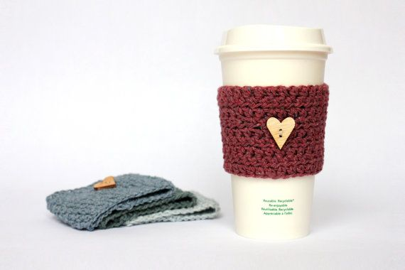 Recycled Eco Friendly Coffee Cup Sleeve | DIY | Pinterest