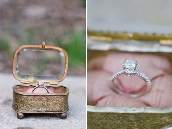 Wedding Ring Box Find A Lovely Vintage Jewelry Have Cushion Placed Inside And Gl Ed To The Top Lid Of Place Rings Right On
