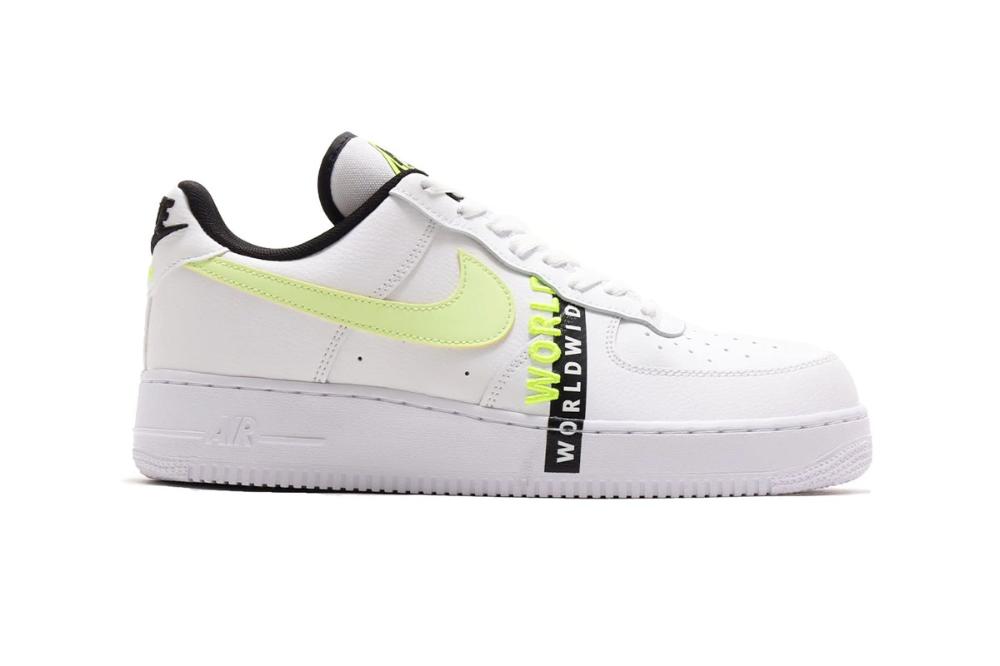 Nike Preps Neon Clad Air Force 1 Worldwide Pack Colorways Nike Shoes Air Force Neon Nike Shoes Nike