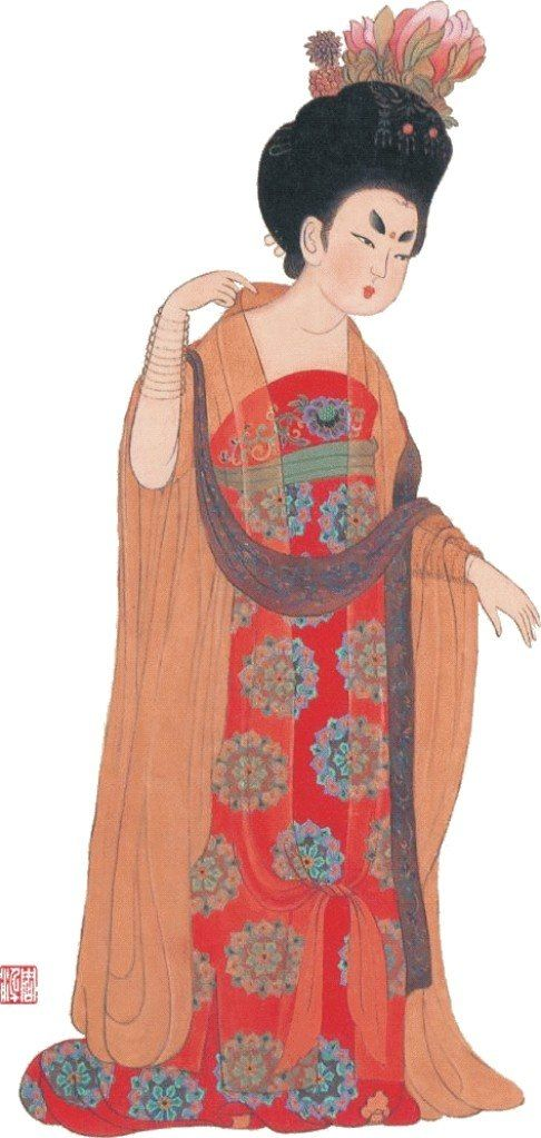 Tang Dynasty clothes were very diverse and could be ...