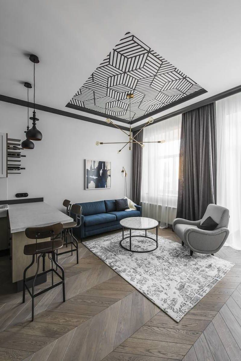 City Break Apartment With High Ceilings