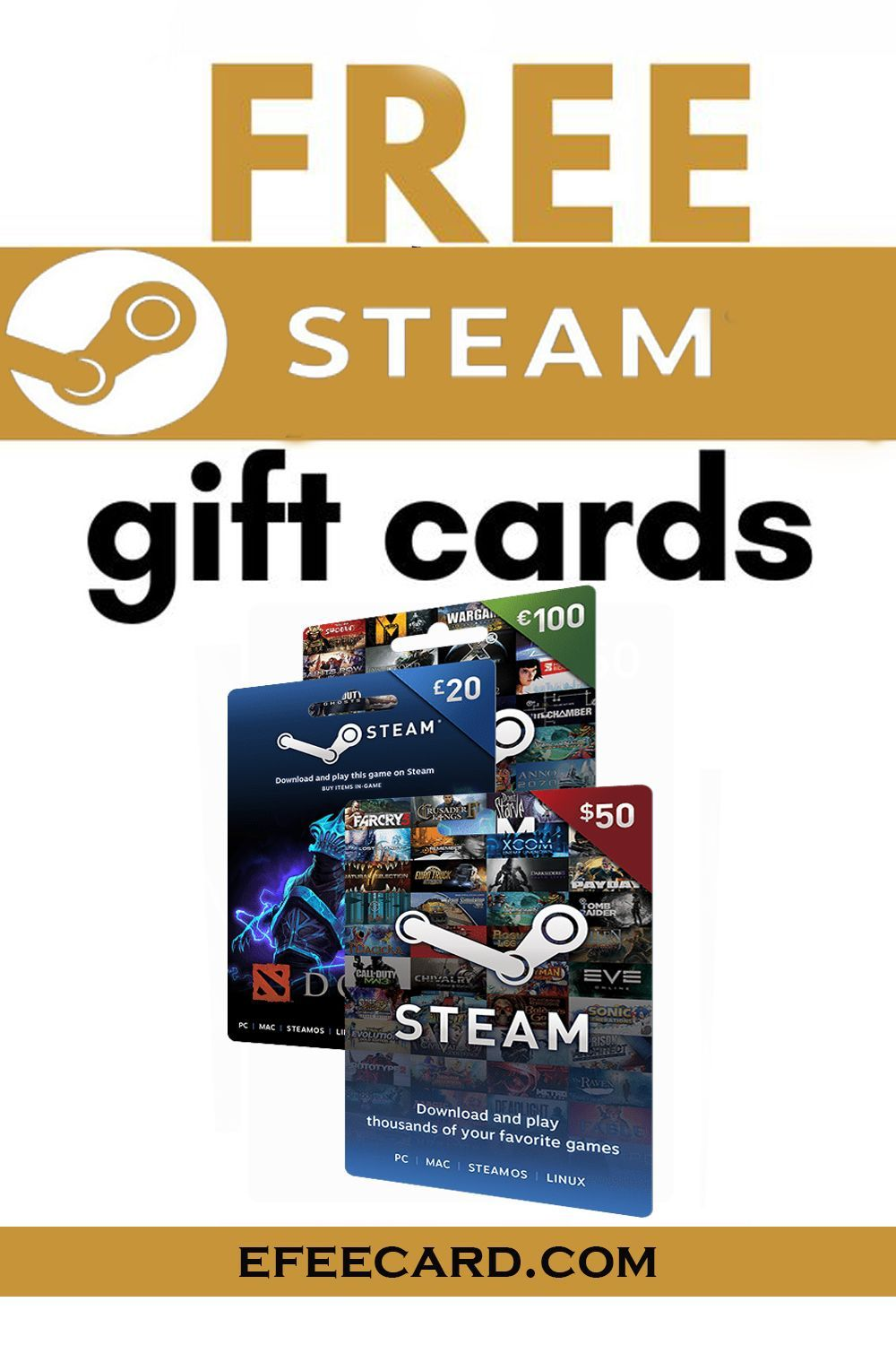 Photo of Steam Free Gift Card –  Win  #steam gift card free !!! Get a #Steam_gift card fr…