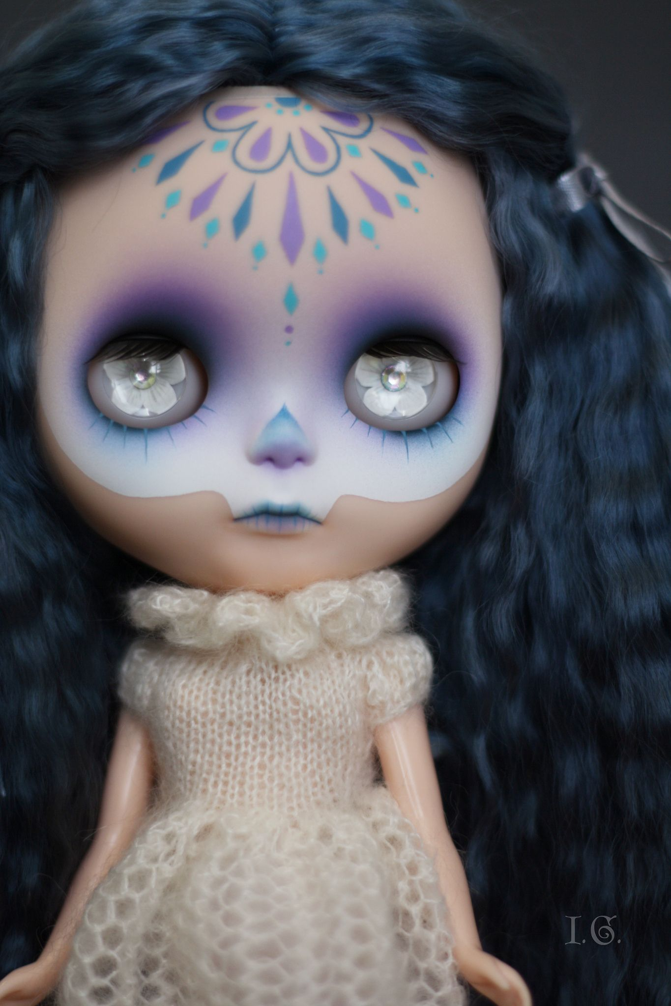 https://flic.kr/p/egUiQS | Little Dead Thing #24 | For Diem :)  wearing a dress by shershe hair by Blythe Laboratory