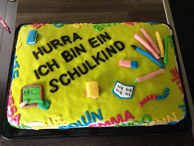 Zauberhaftes - Handgemachtes: Ein Kuchen für den Kennenlerntag