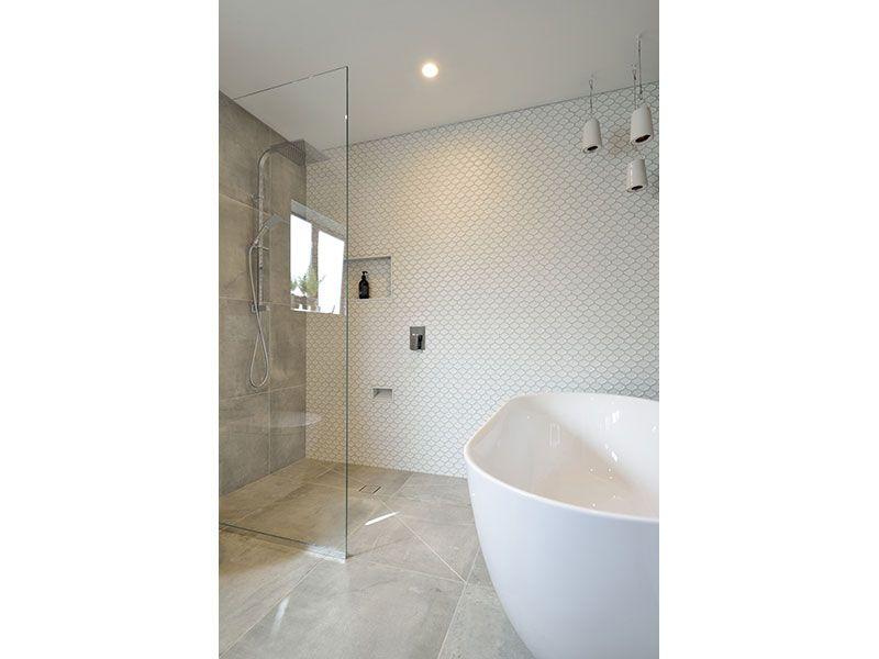 Honeycombe Internal White Matt Floor And Wall Tiles