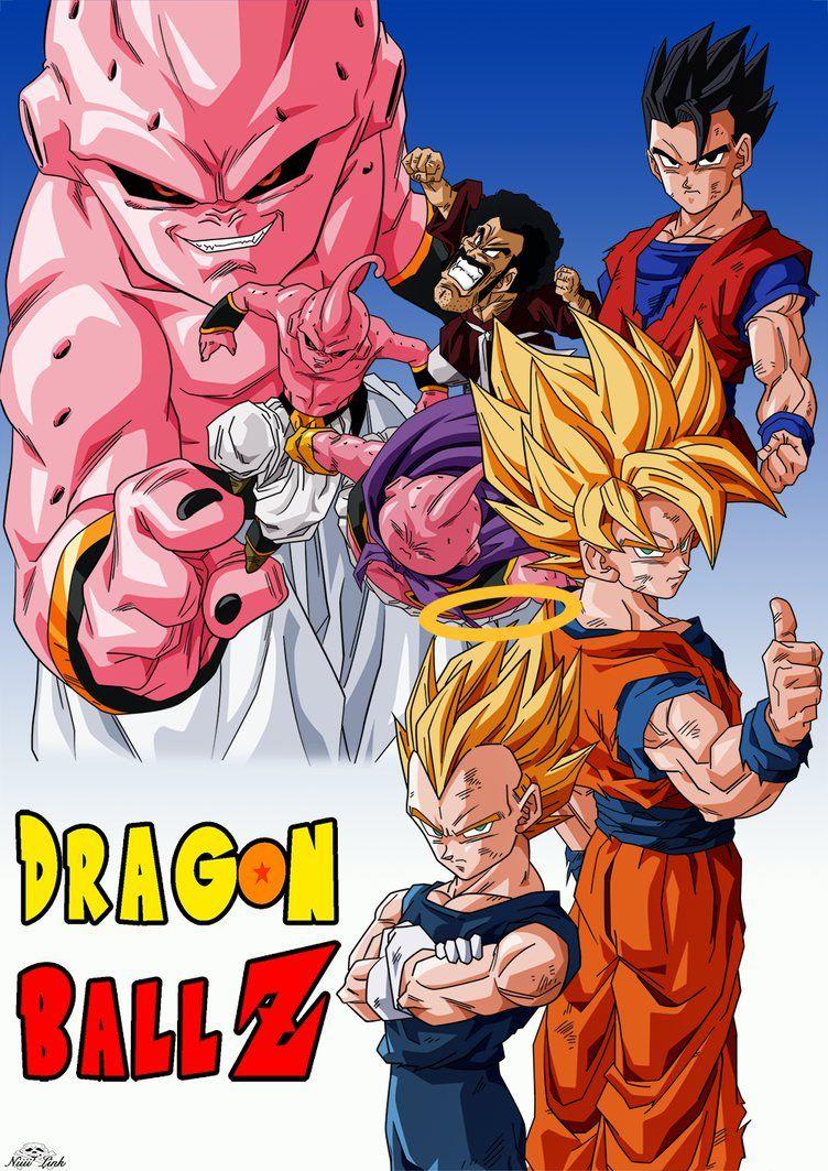 dragon ball z saga majin boo dublado mkv