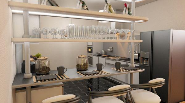 Gambar Dari Contoh Meja Bar Di Dapur Rumah 5
