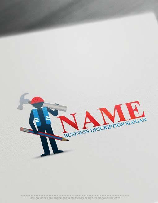 Free Logo Maker - Constructor Logo Template   Top Real Estate Logo ...