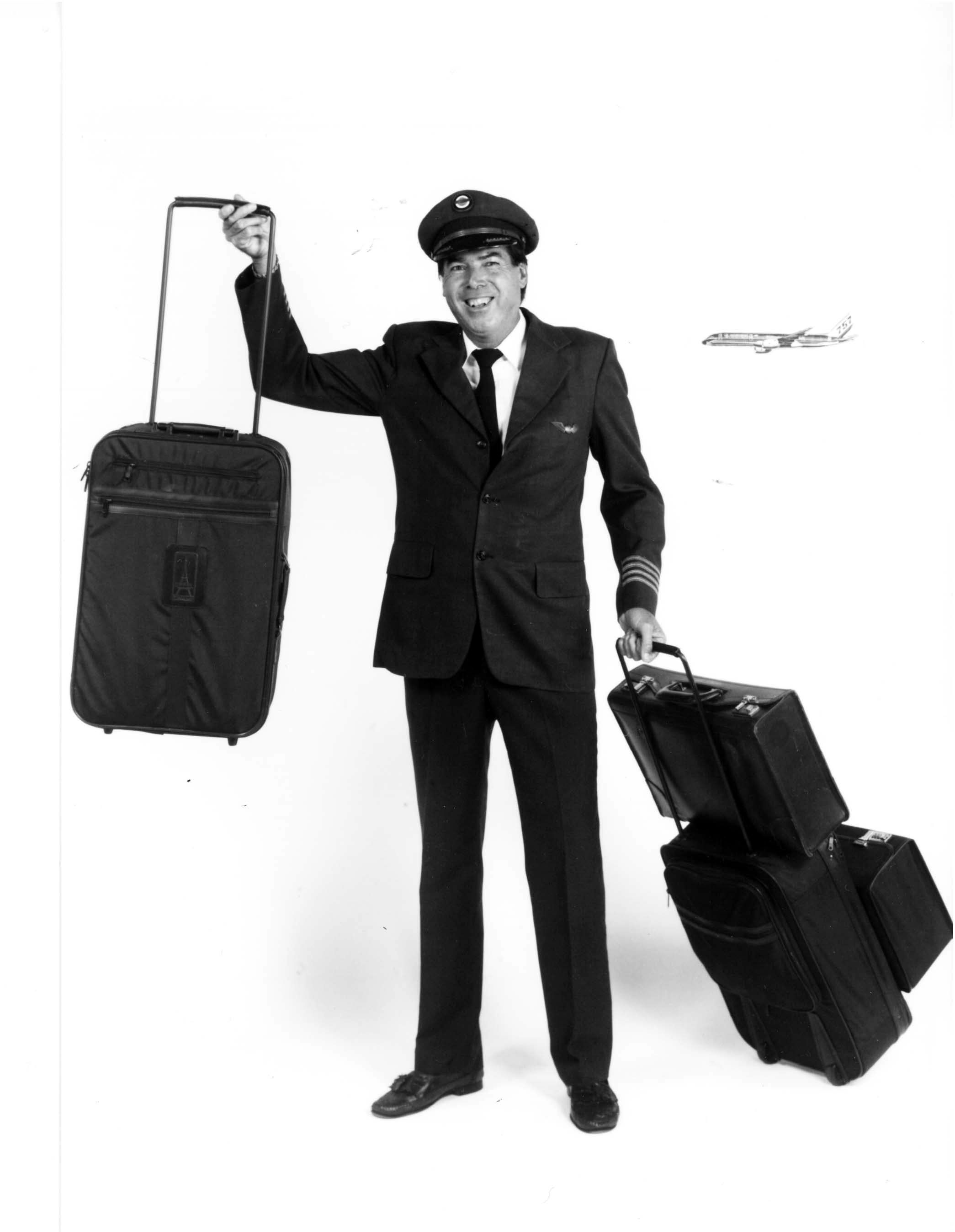Robert Plath and Rollaboard Luggage | Modern man, Flight crew, Luggage