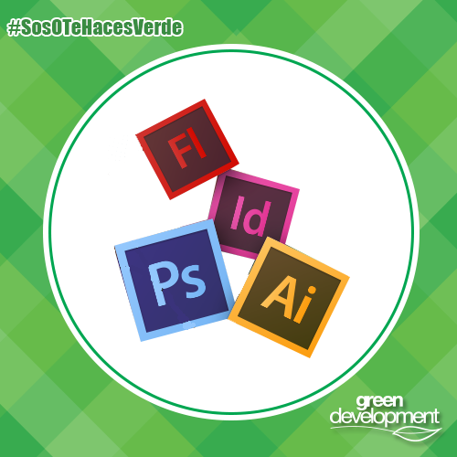 ¡Feliz día del diseñador gráfico! #SosOTeHacesVerde