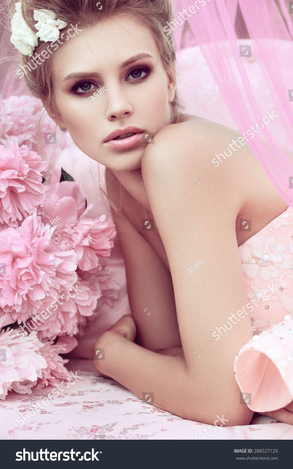 Beautiful girl in the flower garden. Princess. #Sponsored , #Ad, #girl#Beautiful#flower#Princess