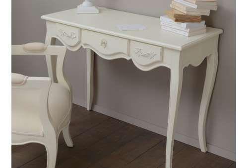 Bureau blanc galbé amadeus meuble