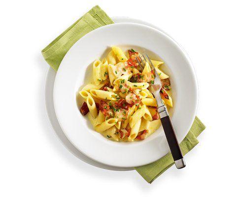 Penne Carbonara - Rezept - Saisonküche