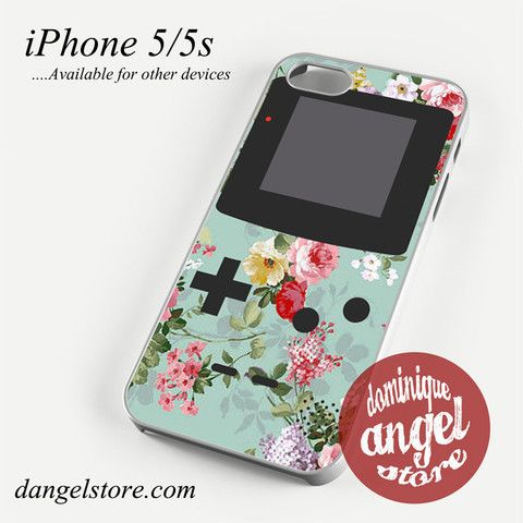 original floral gameboy Phone case for iPhone 4/4s/5/5c/5s/6/6 plus
