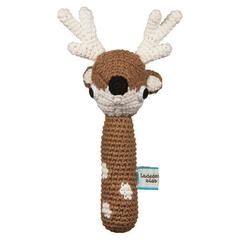 Crochet Rattle - Deer