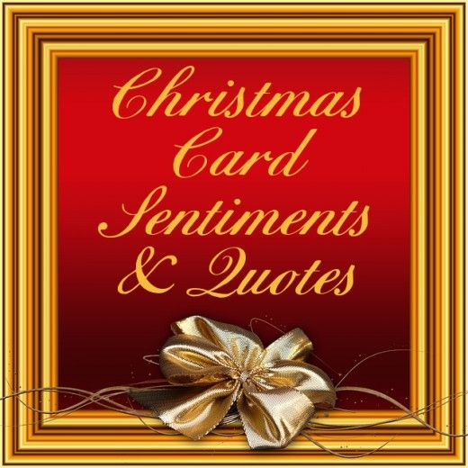 Add short and sweet sentiments and sayings to your seasonal Holiday cards with this Christmas ...