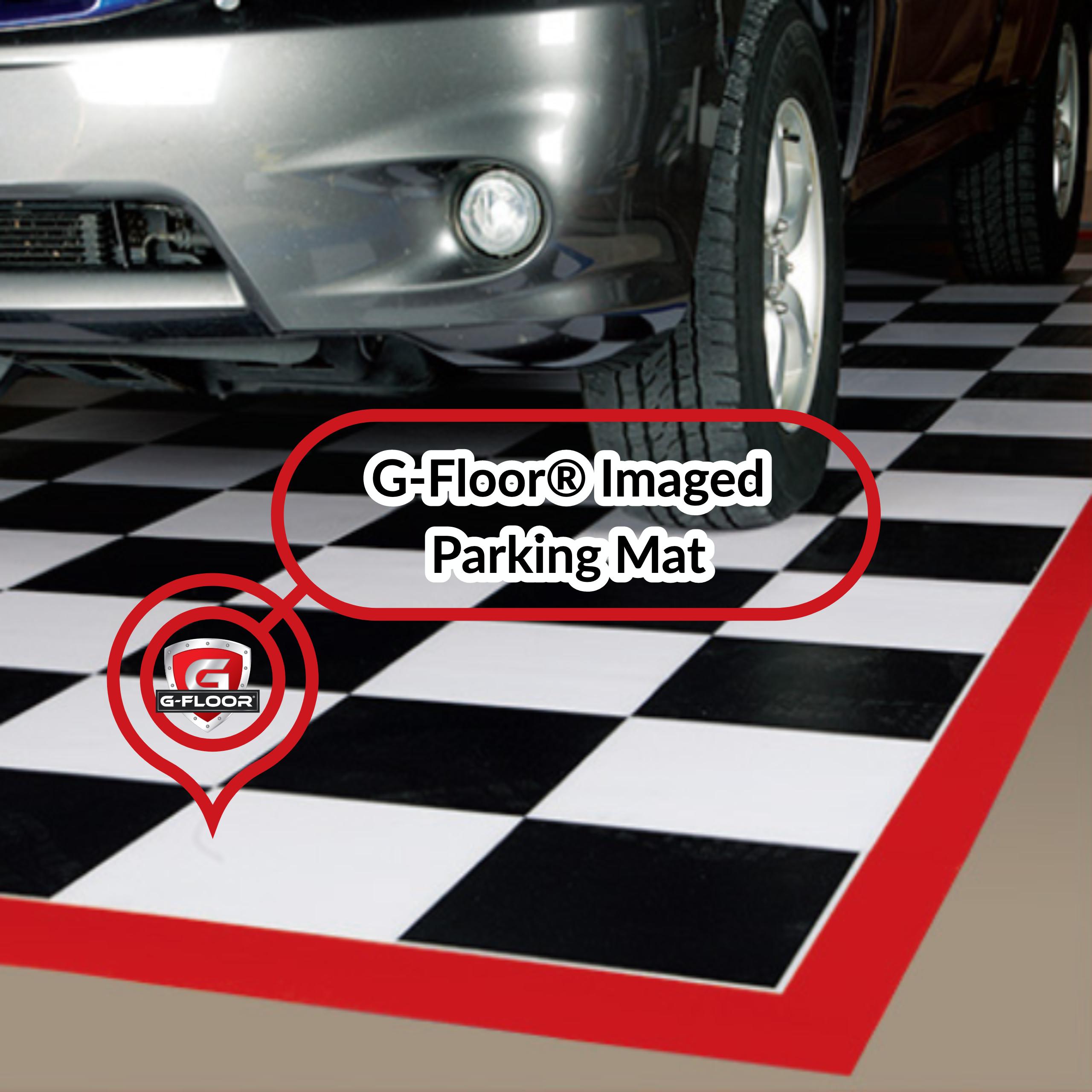 Floor Imaged Parking Mat Garage Mats Park