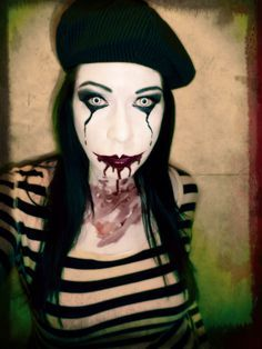 mime makeup women google search - Mime For Halloween