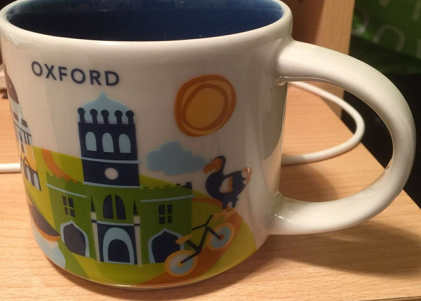 "Oxford ""You Are Here"" Starbucks Mug Starbucks city"