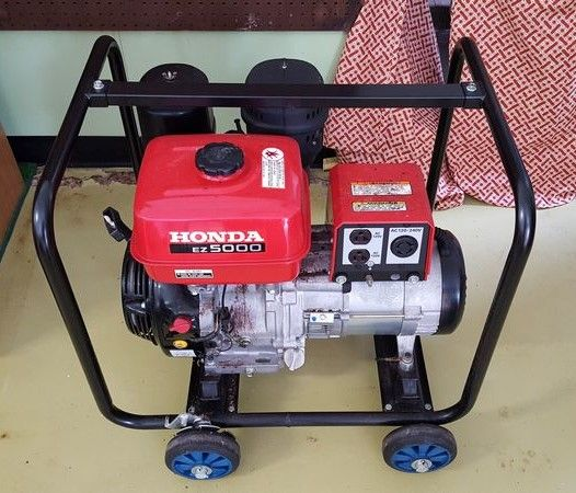 Honda EZ5000 Generator (5000 Watt), Excellent Exterior Condition, May  Require Tune Up. See Photos For Details. Located In Garage.