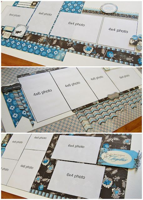 001 scrapbook generation Five new multilayout page kits now