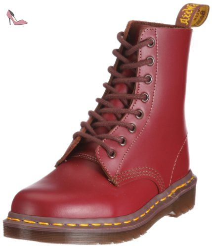DR MARTENS 1460Z Vintage oxblood quilon DM boot MADE IN