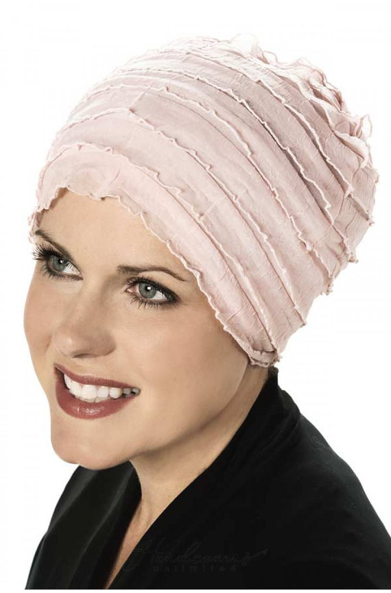 Ruffle Sleep Cap for Women - Sleeping Hat for Cancer Patients 6d443947e80