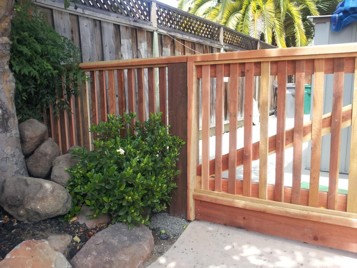 Reuben Borg Fence Specializes In Residential Commercial Fencing Using Redwood Vinyl Chain Link Ornamental Ir Redwood Fence Deck Contractor Retaining Wall