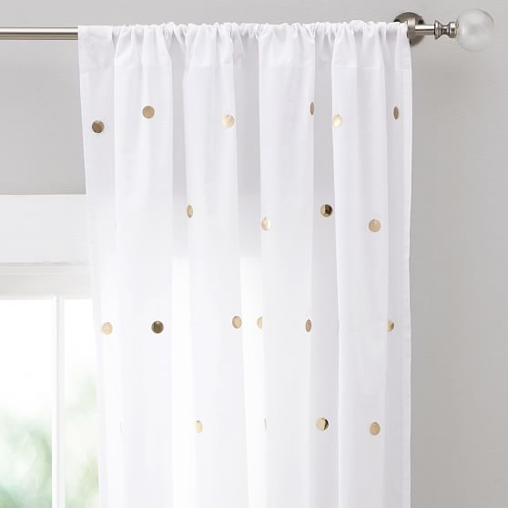 POTTERY BARN TEEN DOTTIE SHEER curtain PANELS PURPLE SET//2 44 X 96 dorm kids