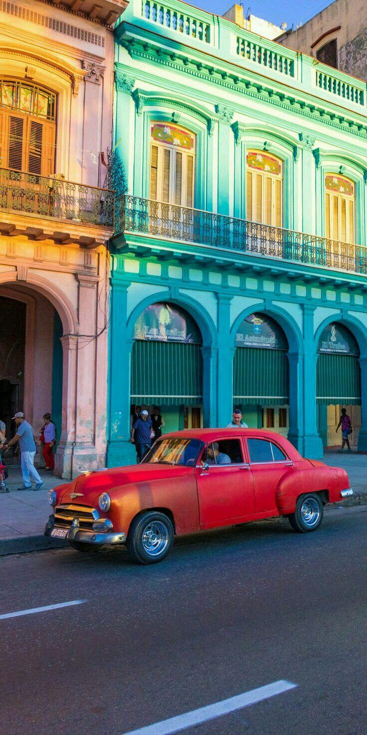 Havana Cuba Ebs1903 Havana Cuba Architecture Vintage History Classiccars Red Kuba Bilder Havana