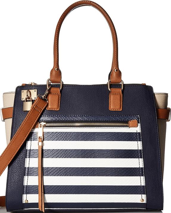 5e1ef209034 Aldo Navy  Hutcheon  Top Handle Handbag