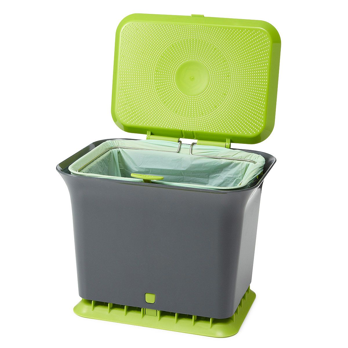 Fresh Air Compost Collector Odor Resistant Container Free Kitchen Collect Bin Reduce