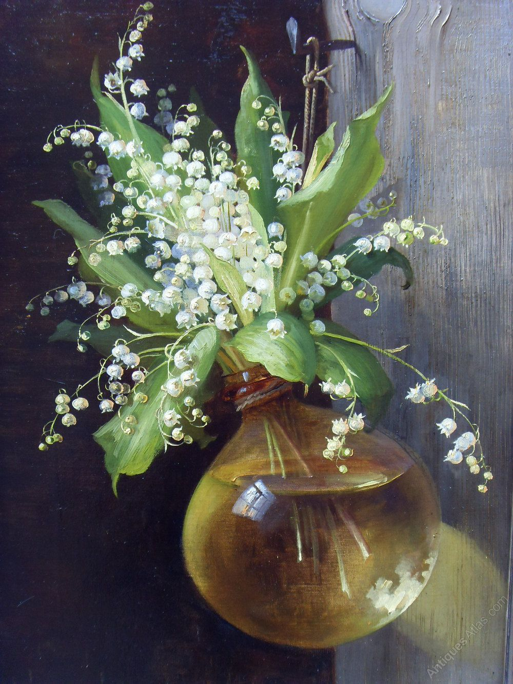 Unknown artist oil painting lily of the valley oil painting lily of the valley reviewsmspy