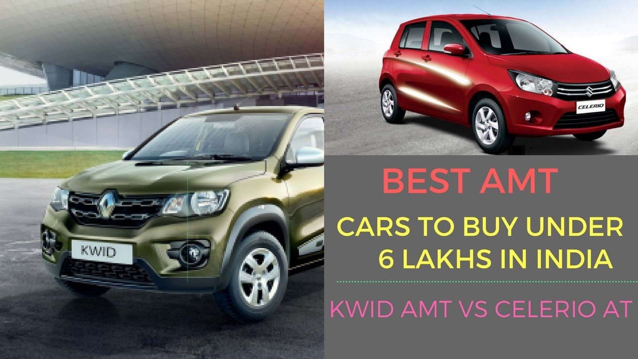 awesome Best AMT (Automatic) Cars To Buy Under 6 Lakhs in