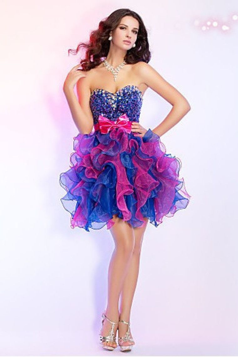 2013+Homecoming+Dresses+Sweetheart+A+Line+Short/Mini+Ruffles+Belt+ ...