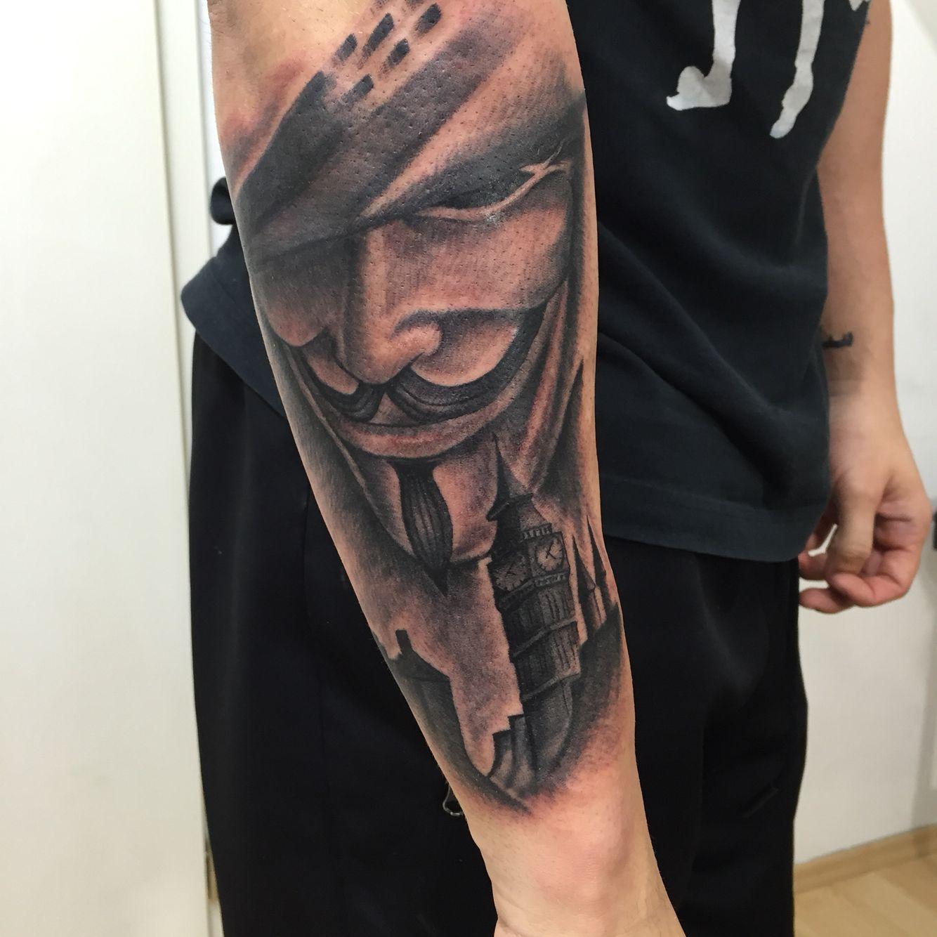 My New Tattoo Ink Inked Tattoo Tat Bigben London