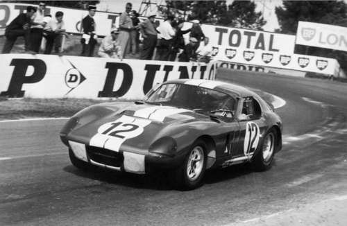 Ford Of France Shelby Daytona Coupe At Le Mans 1965 Daytona