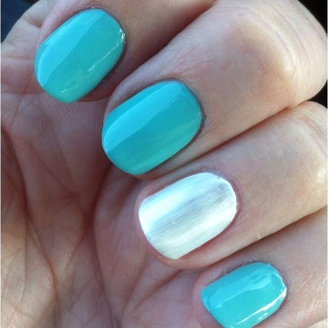Tiffany Blue Box And White Satin Ribbon Nail Polish Is China Glaze For Audrey