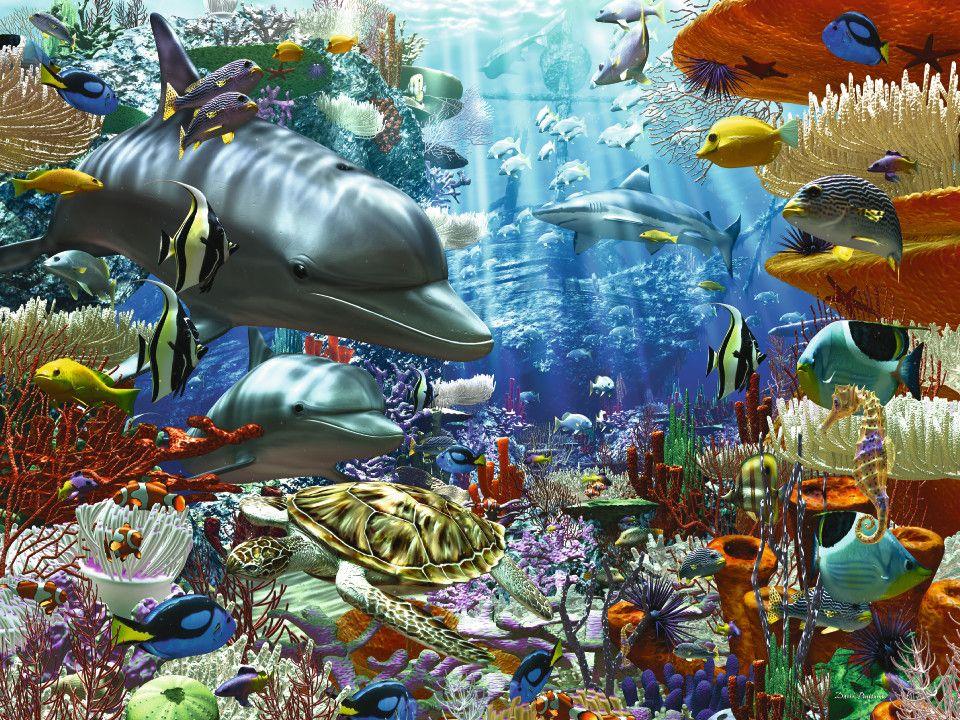 Oceanic Wonders | Adult Puzzles | 2D Puzzles | Shop | US | ravensburger.com