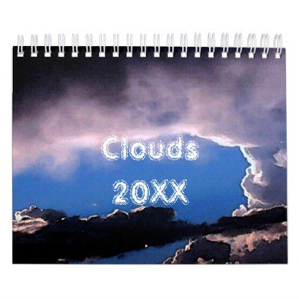 Clouds In The Sky Calendar - photo gifts cyo photos personalize