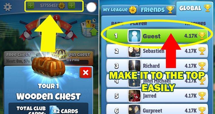 golf clash hack free gems