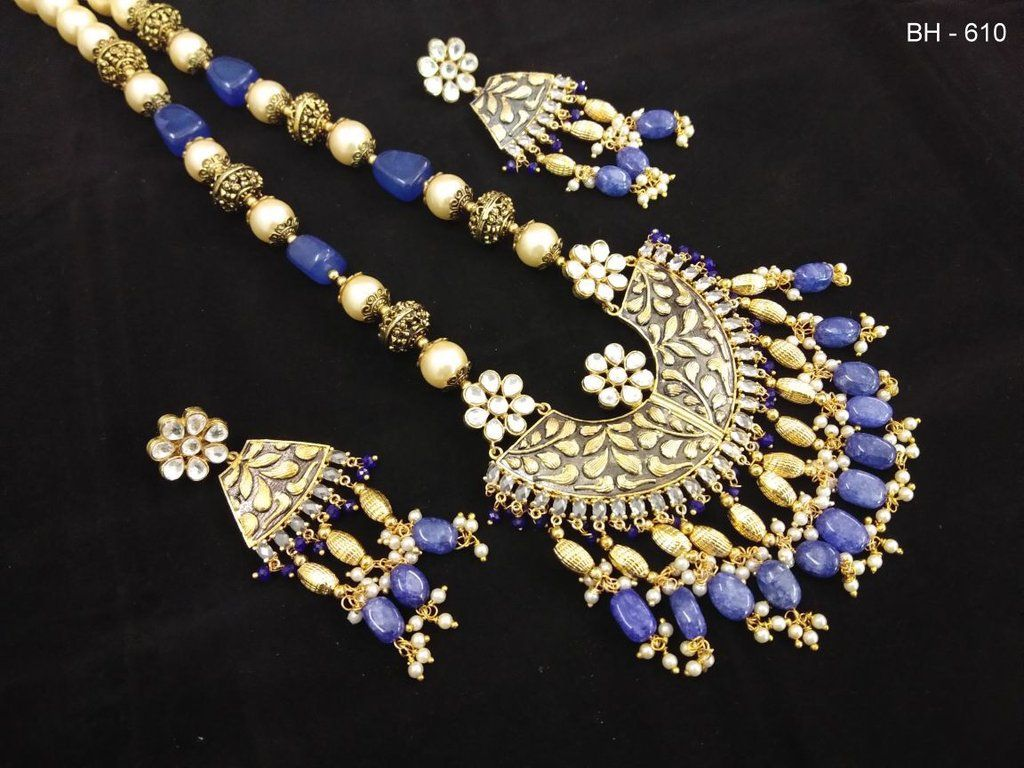 Antique kundan pendant set pendant set pendants and delicate jewelry