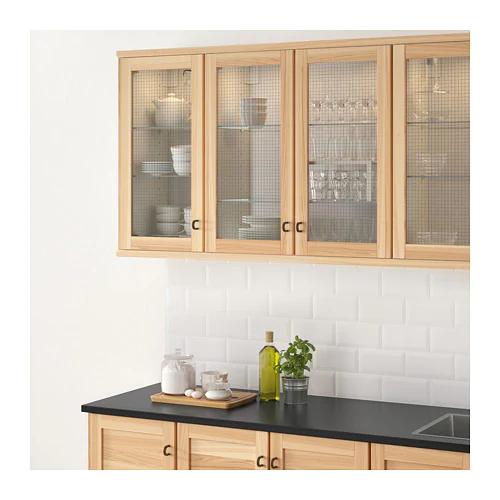 Torhamn Glass Door Natural Ash 15x30 Ikea Kitchen Remodel Small Kitchen Remodel Kitchen Renovation