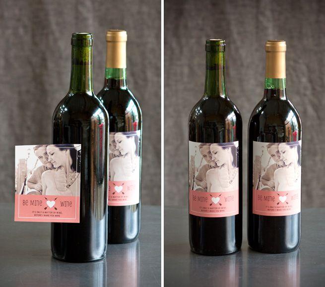 wine bottle stickers