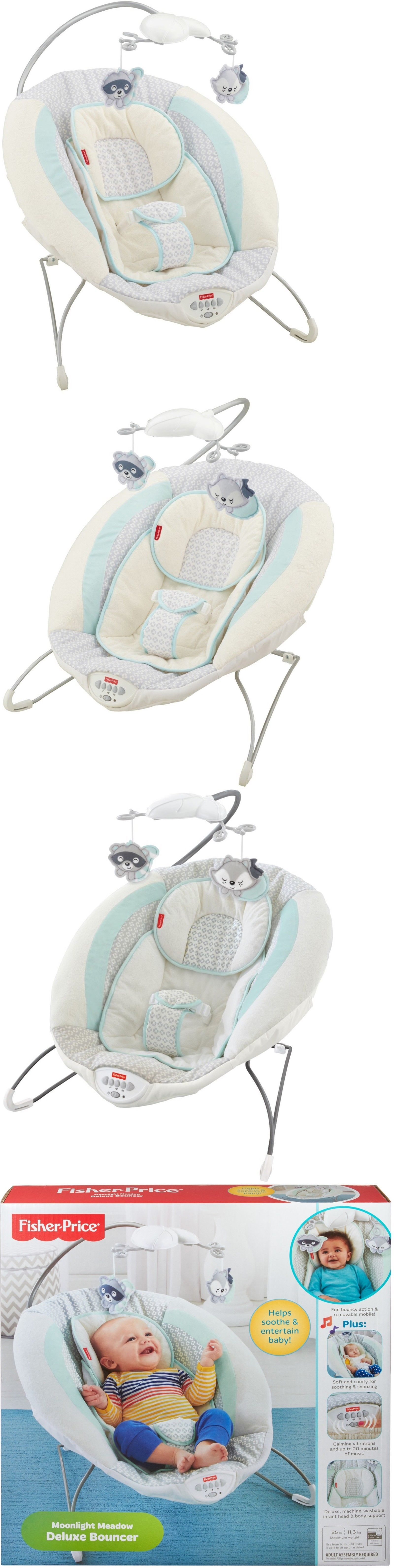 Bouncers and Vibrating Chairs Openbox Fisher Price Moonlight