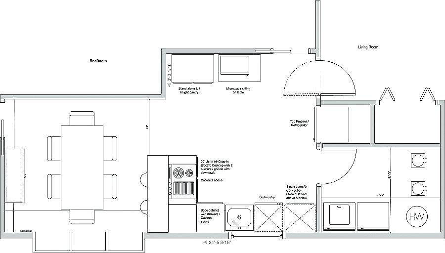 kitchen floorplans 101 marxent room layout planner floor plan design floor plan layout on kitchen remodel planner id=39294